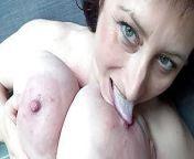 Euro MILF with macromastia hanging breasts from macromastia pics
