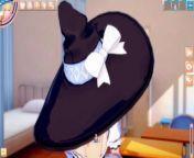 [Hentai Game Koikatsu! ]Have sex with Touhou Big tits Marisa Kirisame. 3DCG Erotic Anime Video. from aniyan ch