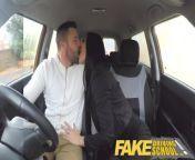 Fake Driving School Jasmine Jae fully naked sex in a car from malavika menon fake naked act