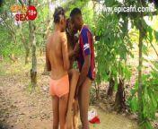 Valentine bush threesome - we enjoy it more here from nigeria ashawo