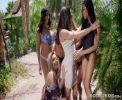 Brazzers House Season 3 Ep3 Abella Danger hosts an insane orgy fuck fest from nvbr