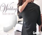 CUM4K Wedding Night Multiple OOZING creampies from বাবা আর মেয়ের সেক্স ভিড