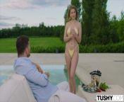 TUSHY Sexy Eyla has first anal experience with sugar daddy from moga sugar